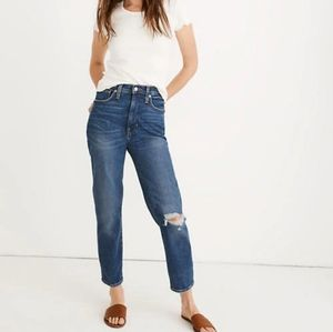 Madewell The Mom jeans NWT